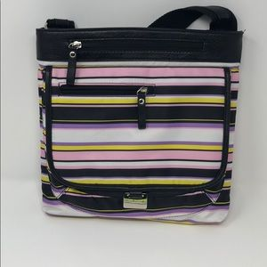Bueno purse multicolor stripes